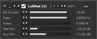 Lo-Fi effect